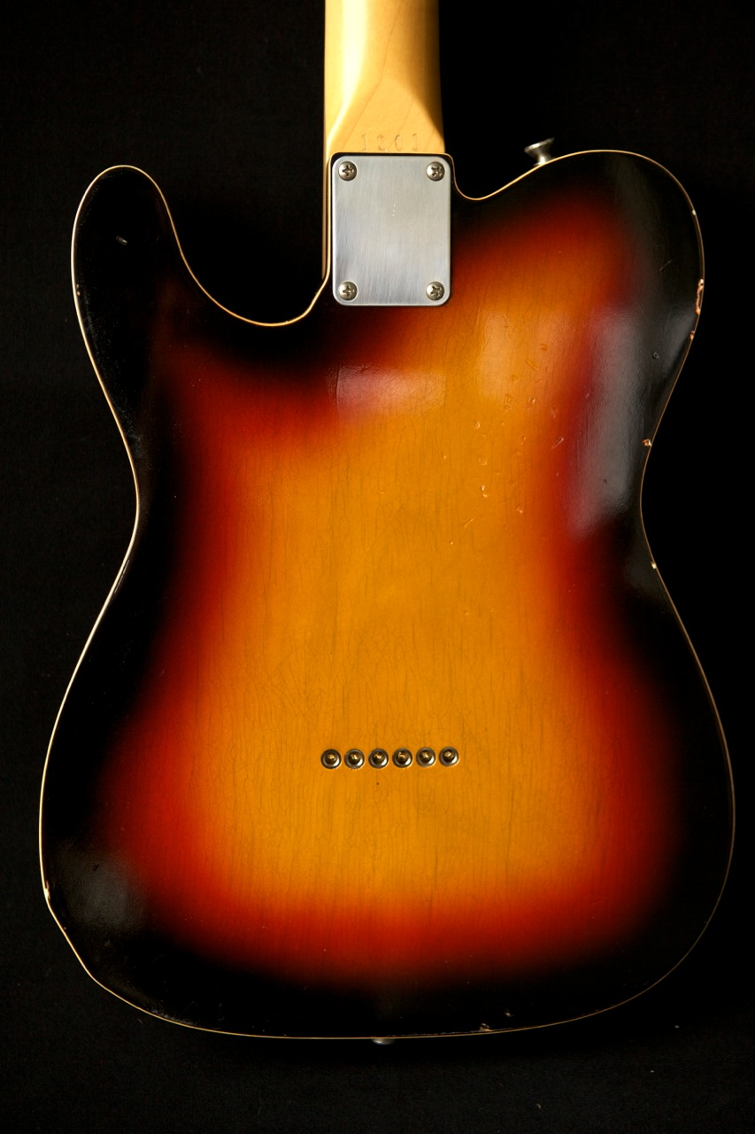 custom guitar finish telecaster humbucker sunburst lollar photo